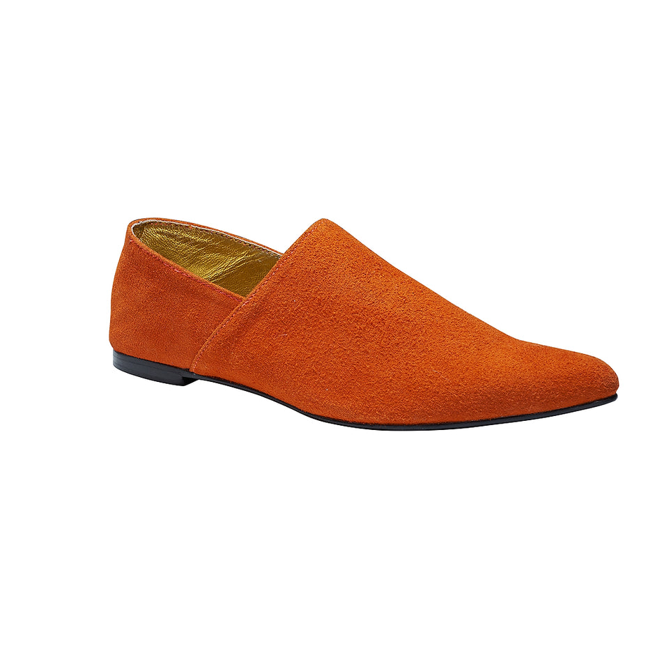 Moroccan Slipper - Orange
