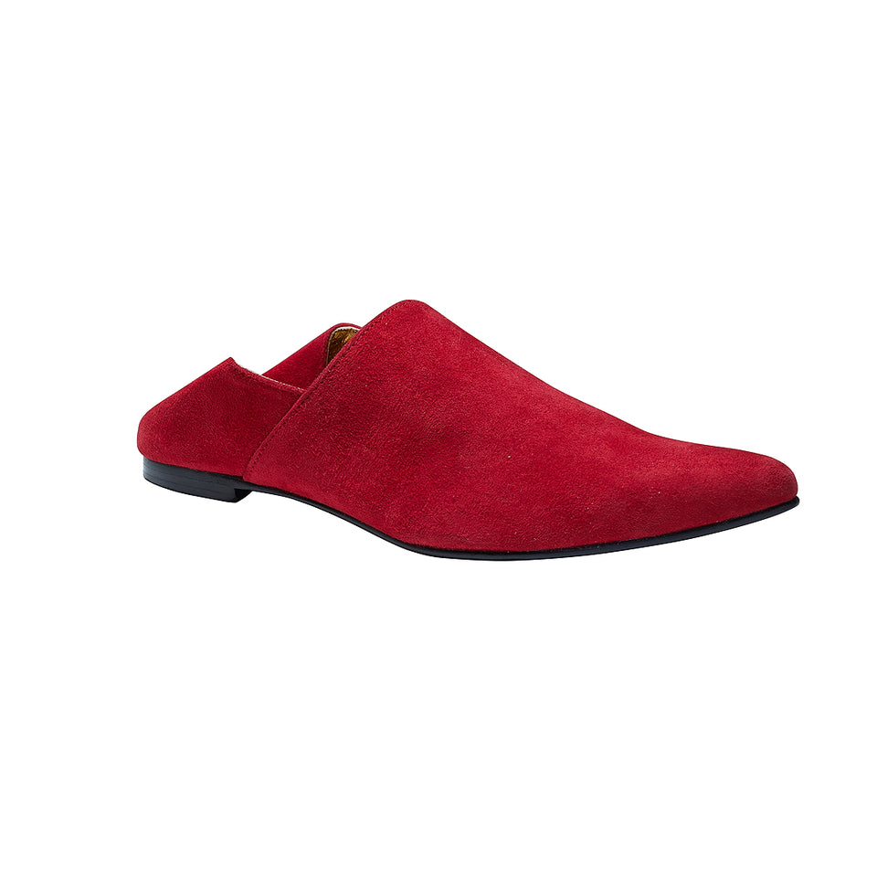 Moroccan Slipper - Red