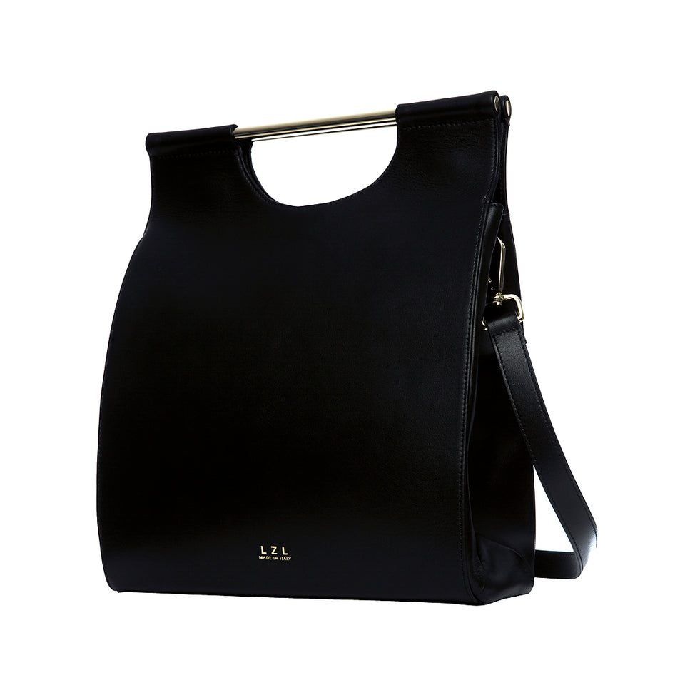 Structured Tote Bag Black