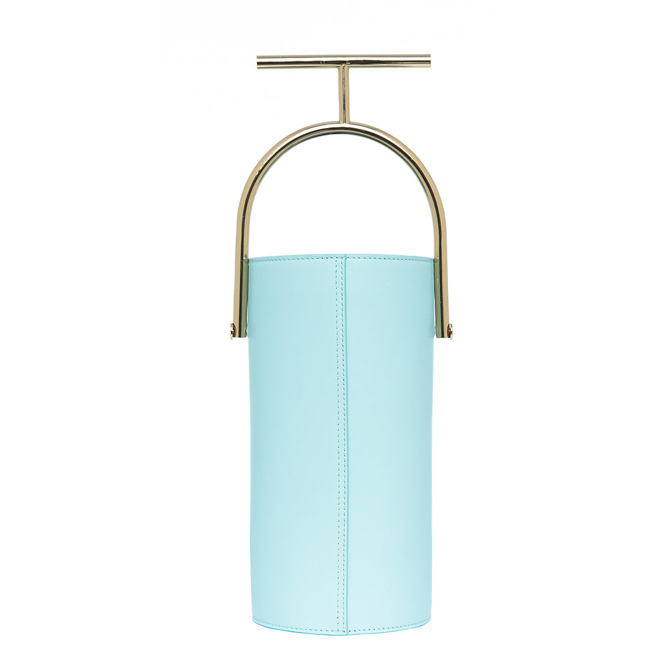 Cylinder Bag Pale Blue