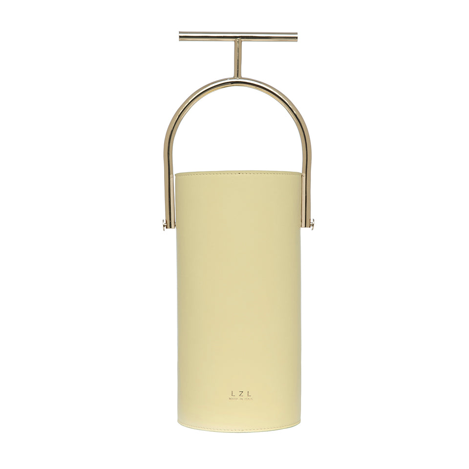 Cylinder Bag Pale Yellow
