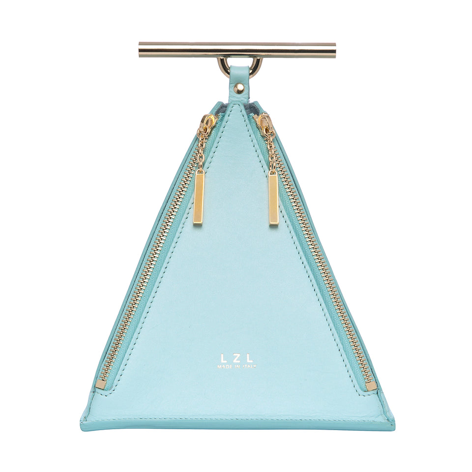 Pyramid Bag Pale Blue