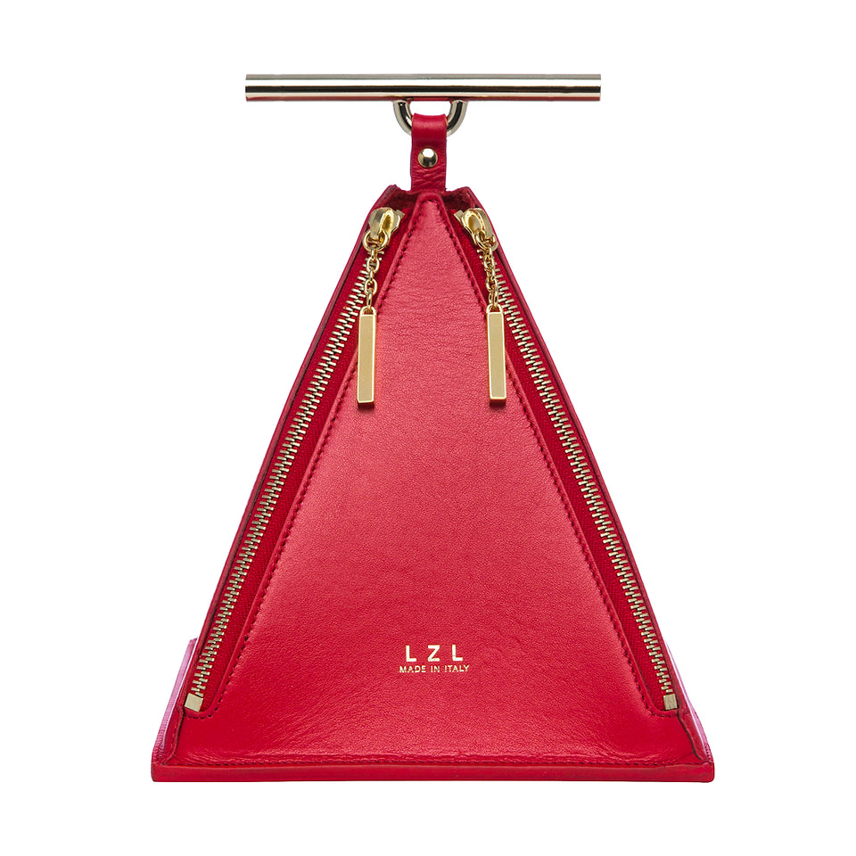 Pyramid Bag Red