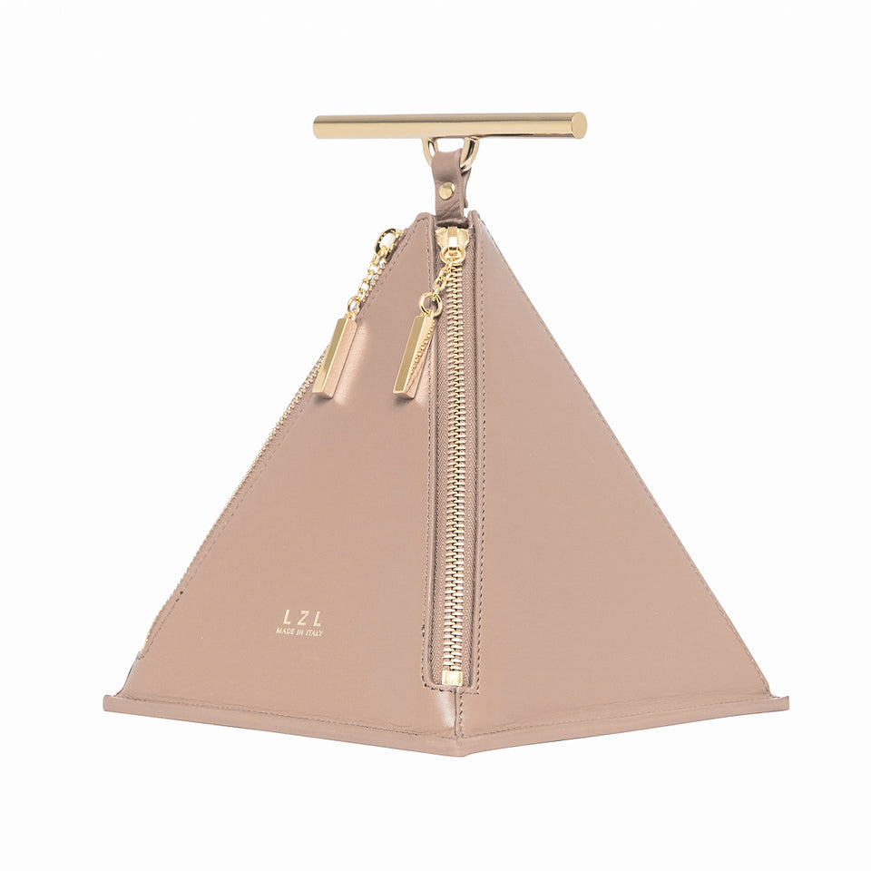 Pyramid Bag Pale Blush