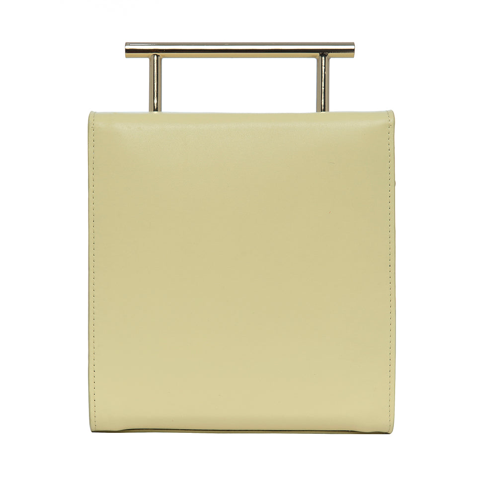 Box Bag Pale Yellow