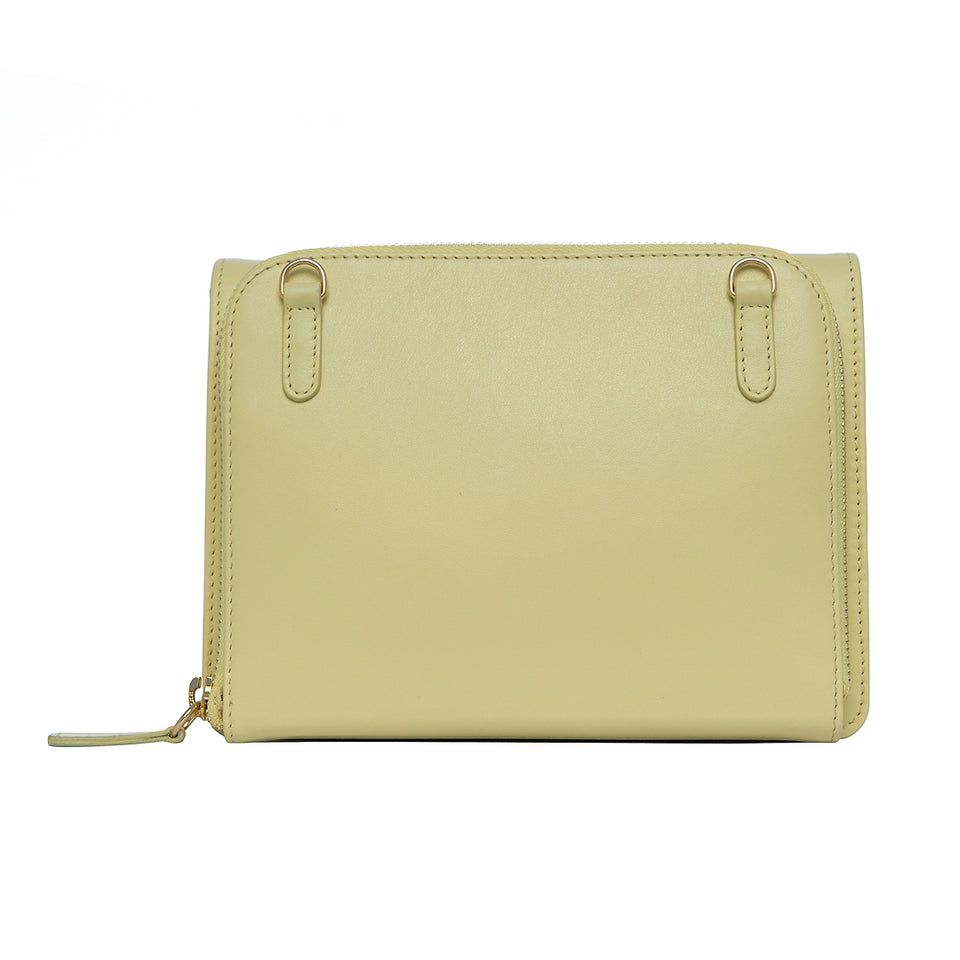 Double Bag Pale Yellow