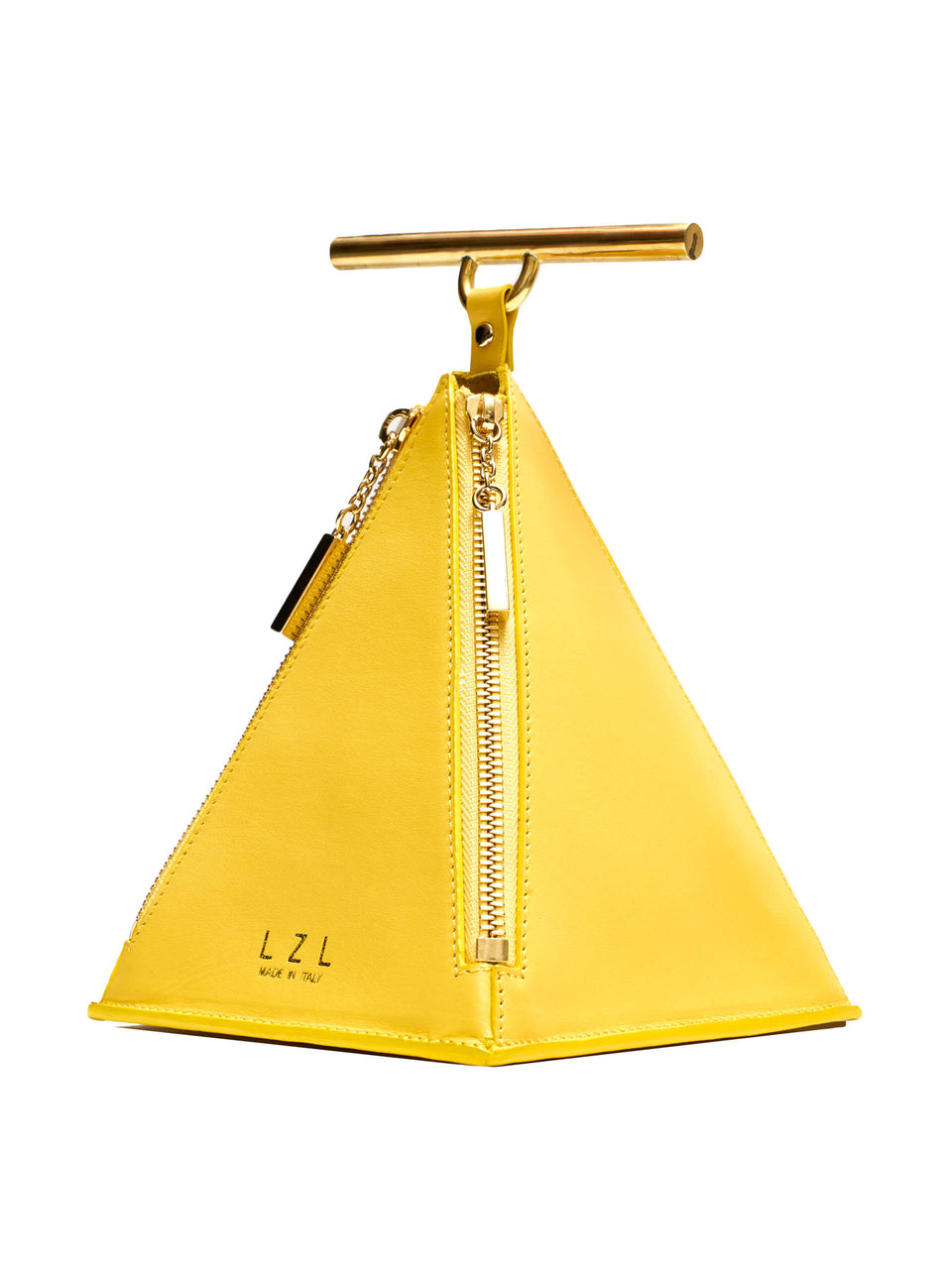 LZL Pyramid Bag 002 Yellow - Side