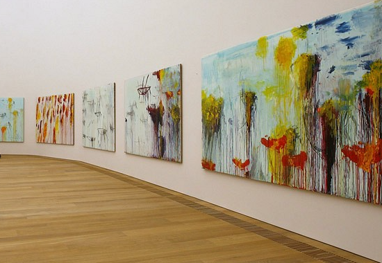 HAPPY VALENTINES BY CY TWOMBLY