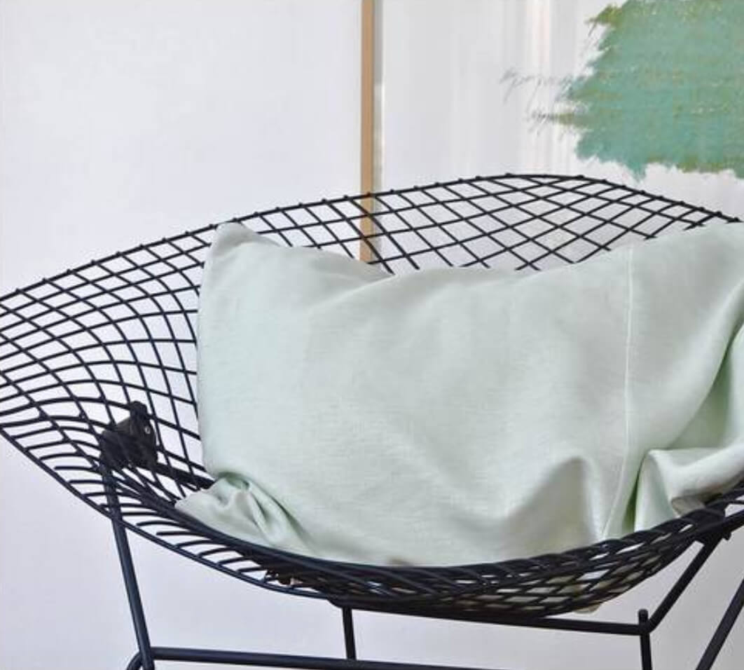 Pillow in a deck chair