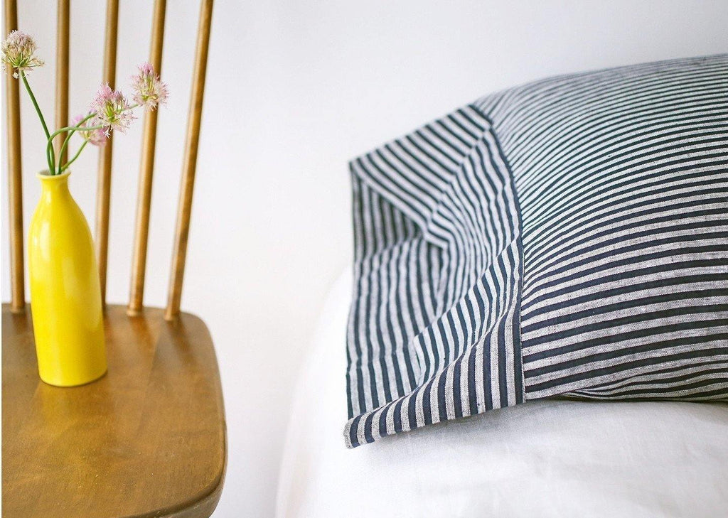 Baltic Stripe Pillowcase Assorted Colors-Modernplum