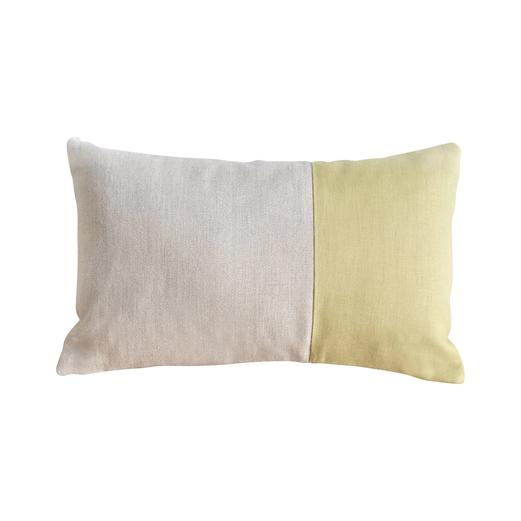 Claire Accent Pillow Citron