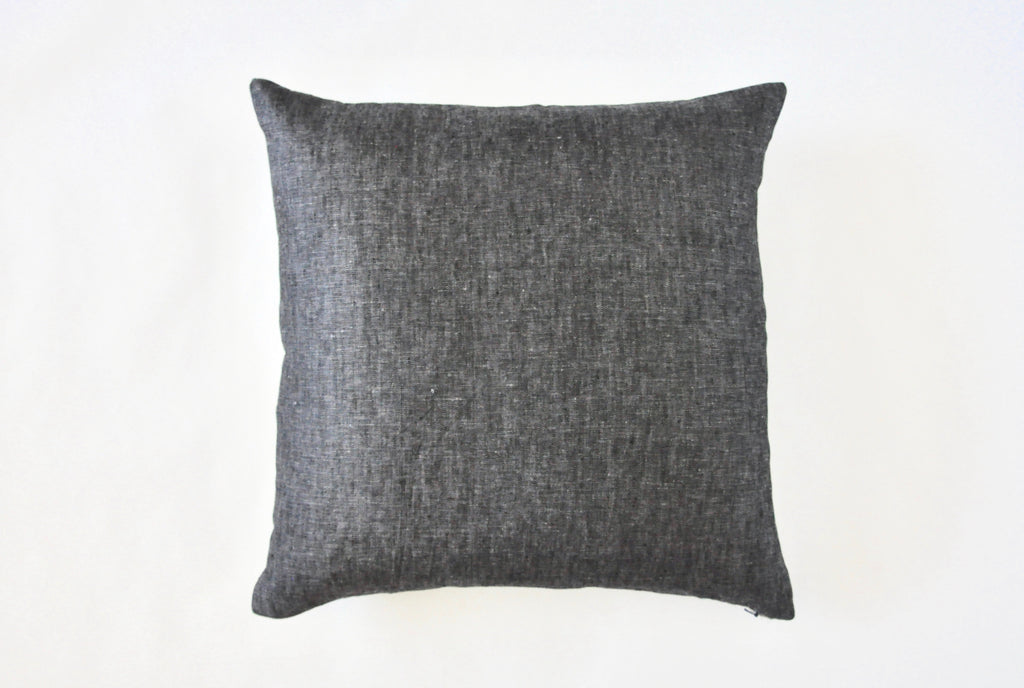 Thistle Textured Throw Pillow Charcoal