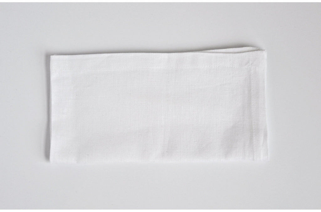 Gretchen Napkin Washed White / Set of 4 - Modernplum