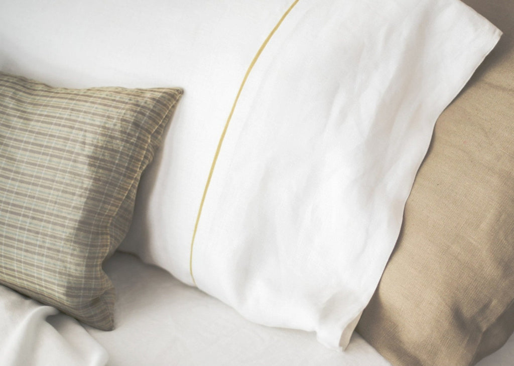 Lucia Pinstripe Pillowcase-Modernplum