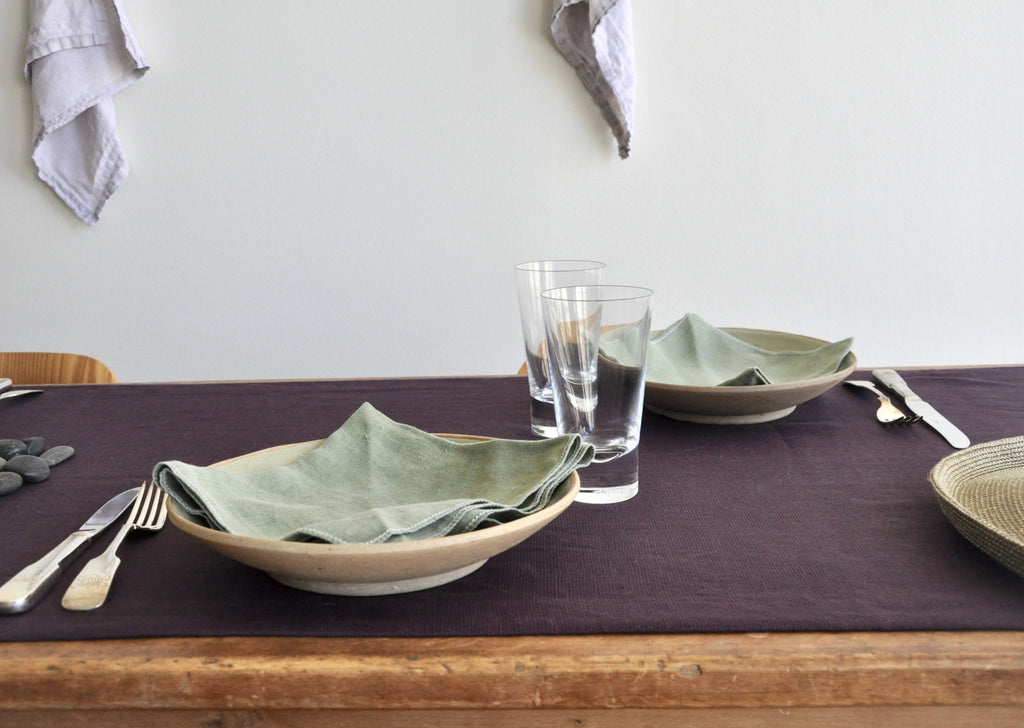 Runyon Table Collection Plum - Modernplum