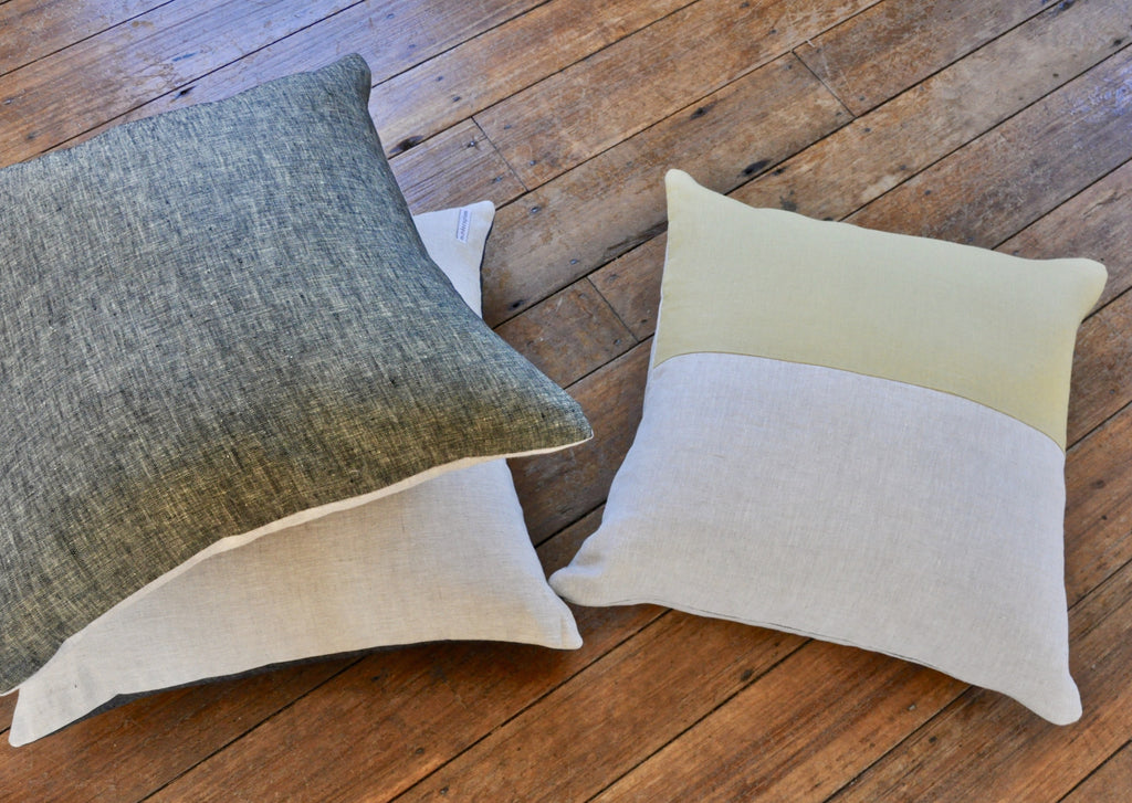 Thistle Throw Pillow Mustard - Modernplum