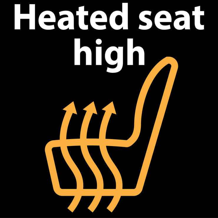 Heated Seat Conversion 1 and 2 Seat Options