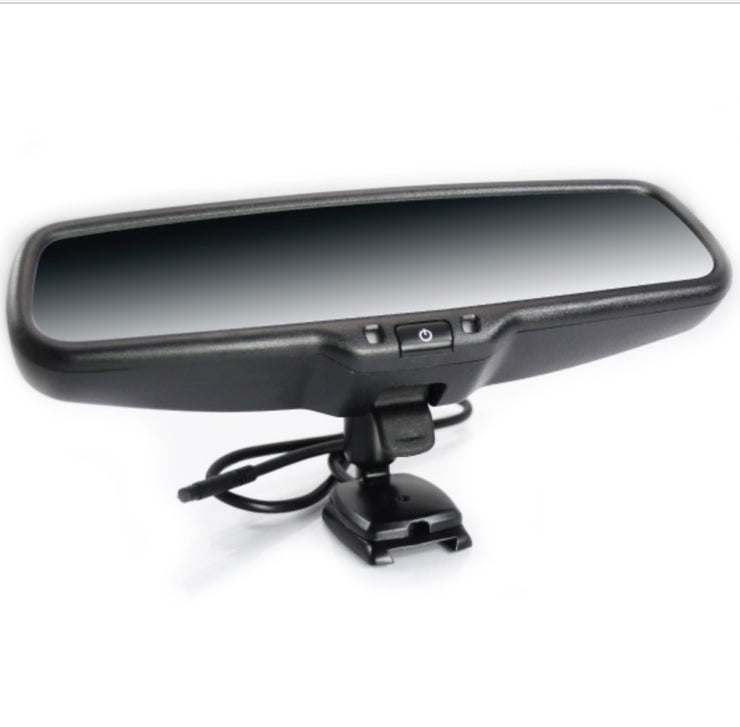 Rear View Mirror Monitor Advanced Model - Fully Fitted With Camera