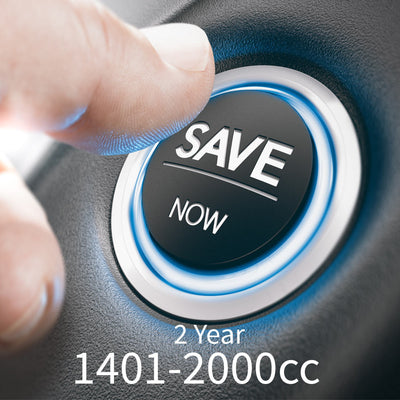 2 Year - Service Plan - 1401cc to 2000cc