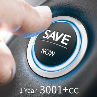 1 Year Service Plan 3001cc +
