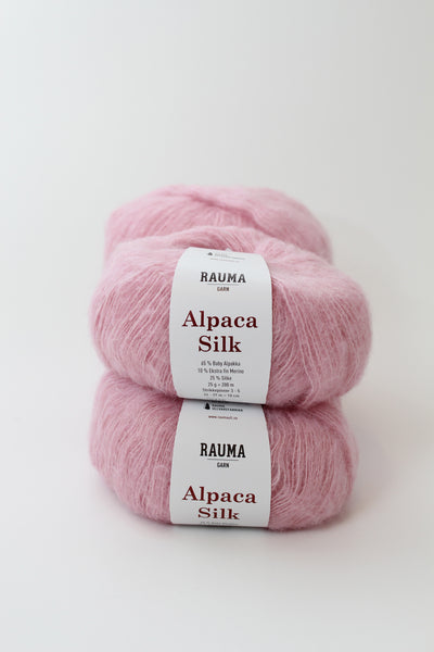 Sweater with bubbles Nina Skarra - Rauma Silk Mohair