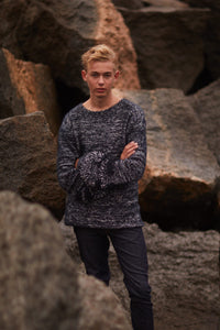 wool sweater for men Nina Skarra
