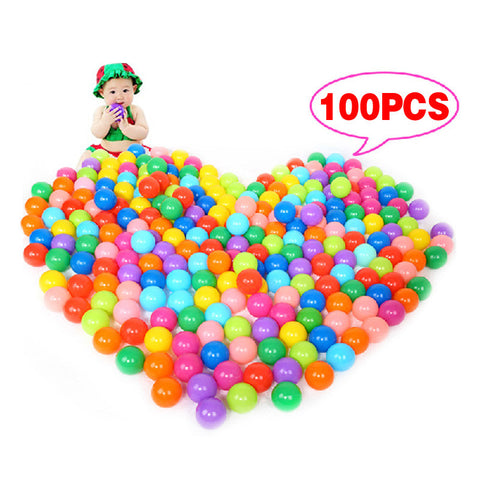 100Pcs Soft Plastic Ocean Kids Ball