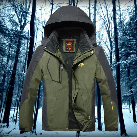 Extreme Conditions Waterproof Jacket