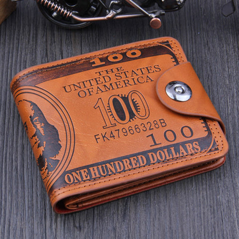 100$ Leather Wallet