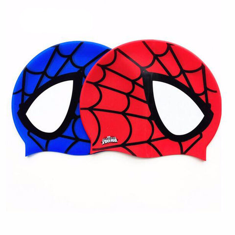 Spiderman Sports Pool Swimming Cap