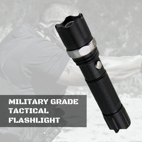 Military Grade Tactical Flashlight