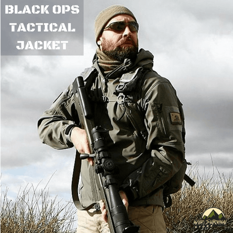 Black Ops Tactical Softshell Jacket