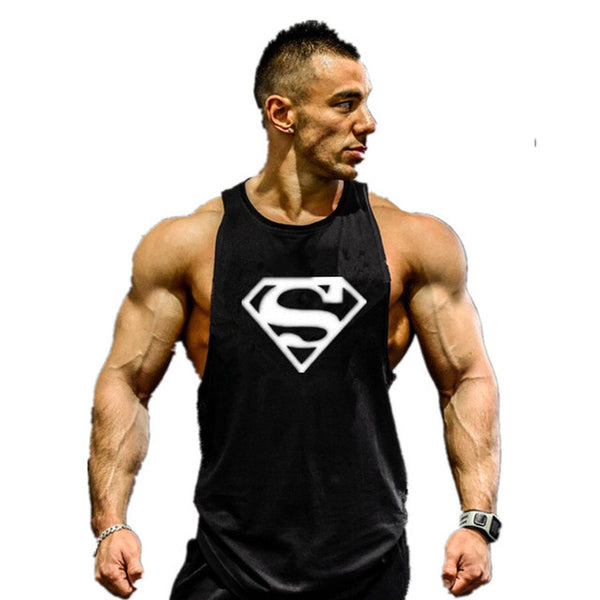 Fitness Tank Stringer Bodybuilding Muscle Shirt