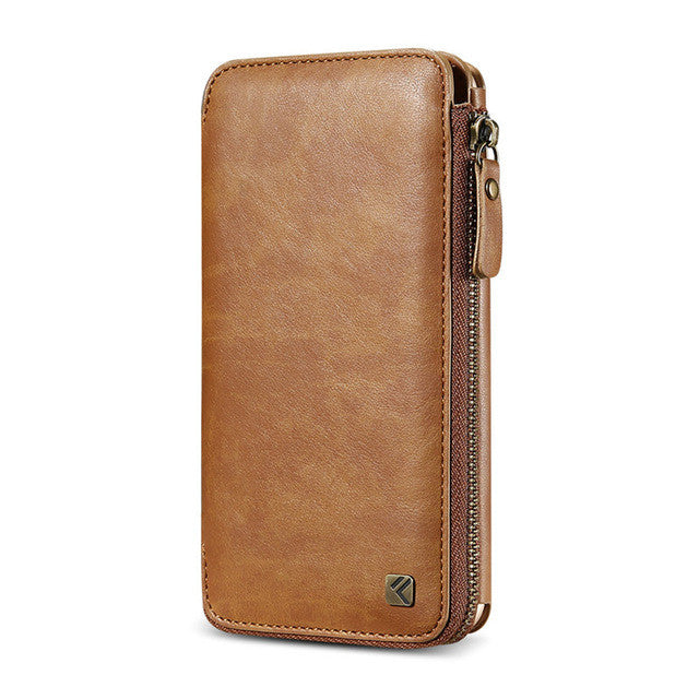 The Floveme Vintage Handmade Wallet Case