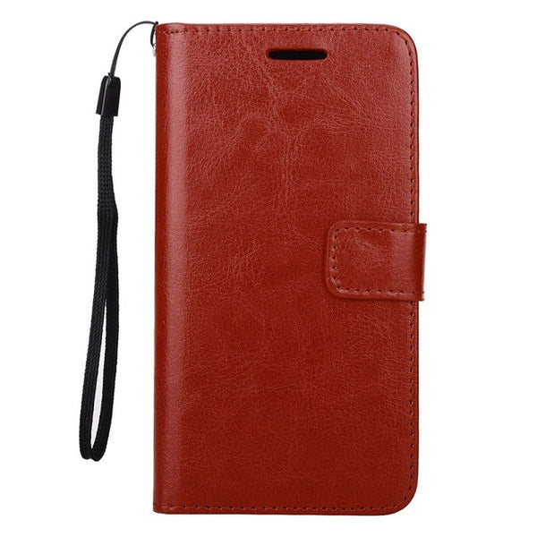 Premium Leather Flip Case Wallet