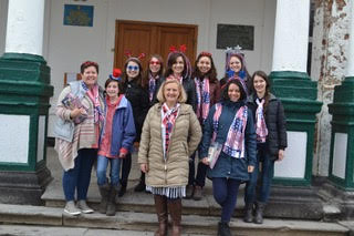 American and Ukrainian teachers