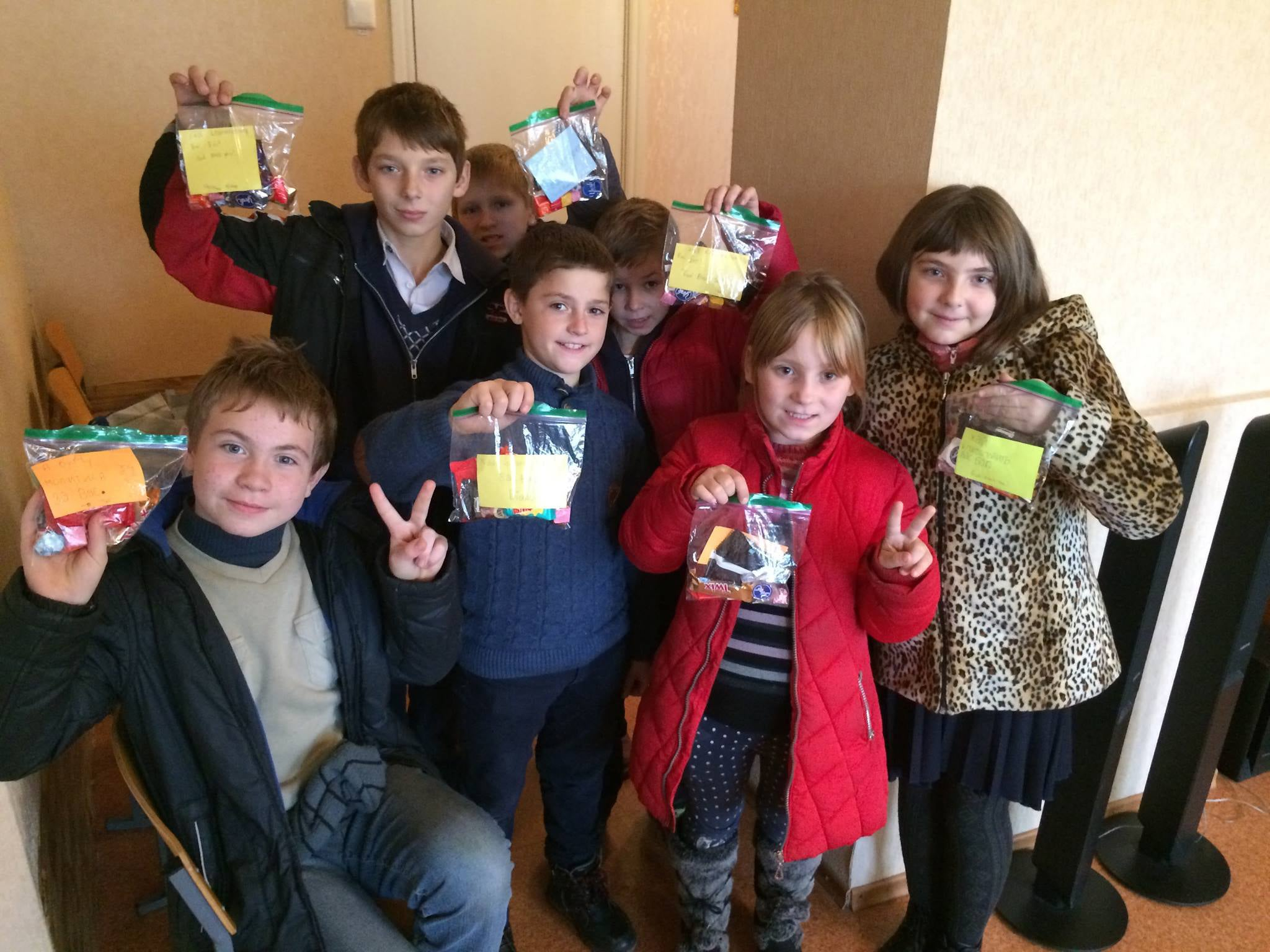 Orphans in Ukraine