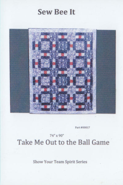 Take Me Out to the Ball Game Pattern