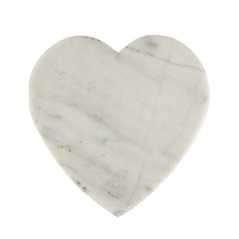 Heart Shaped Marble Chopping Board