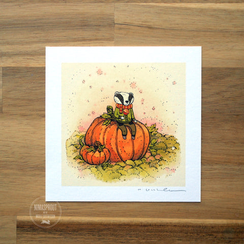 Autumn Badger