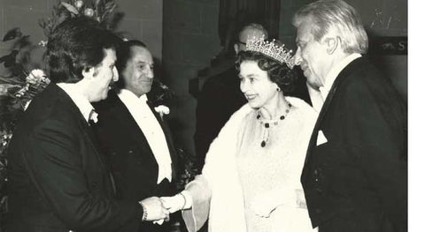 David and the Queen