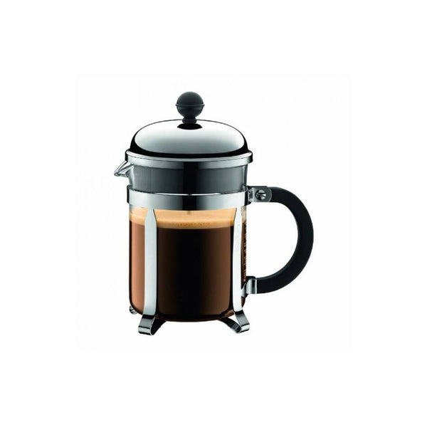 Bodum CHAMBORD 4-Cup (0.5L) French Press Coffee Maker [Shatter-Resistant Beaker] - The Concentrated Cup