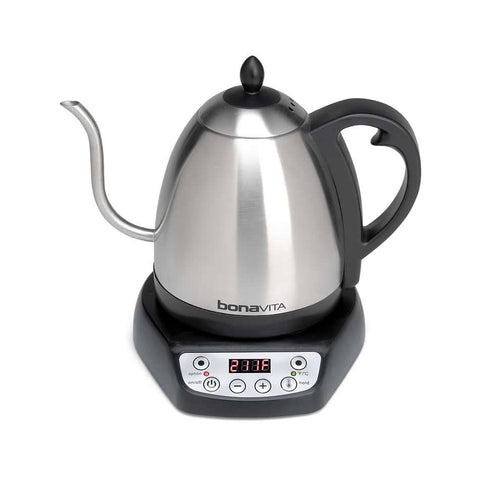 Bonavita 1.0L Digital Variable Temperature Gooseneck Electric Kettle - The Concentrated Cup