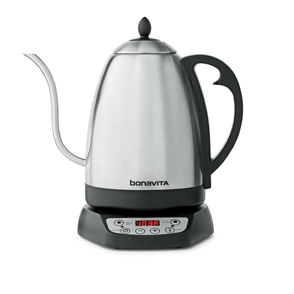Bonavita 1.7L Digital Variable Temperature Gooseneck Electric Kettle - The Concentrated Cup