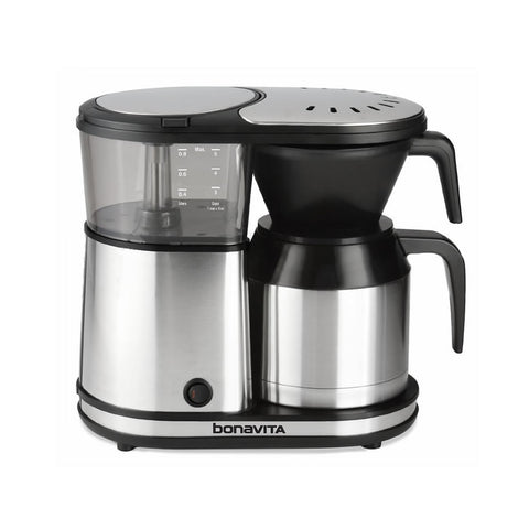 Bonavita 5-Cup Stainless Steel Carafe Coffee Brewer - The Concentrated Cup