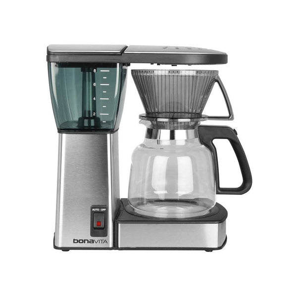 Bonavita 8-Cup Glass Carafe Coffee Brewer - The Concentrated Cup