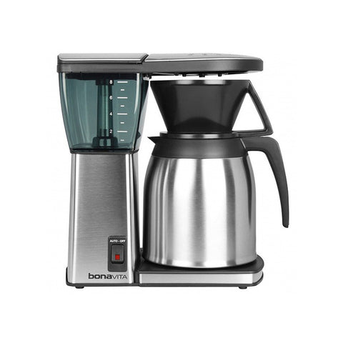 Bonavita 8-Cup Stainless Steel-Lined Thermal Carafe Coffee Brewer - The Concentrated Cup