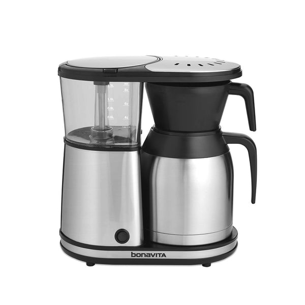 Bonavita 8-Cup Stainless Steel Carafe Coffee Brewer - The Concentrated Cup