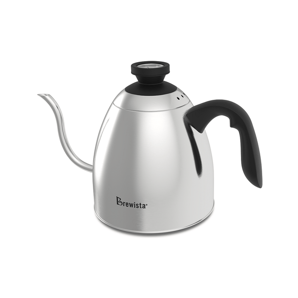 Brewista 1.2L SmartPour Stovetop Cupping Kettle (with Temperature Gauge) - The Concentrated Cup