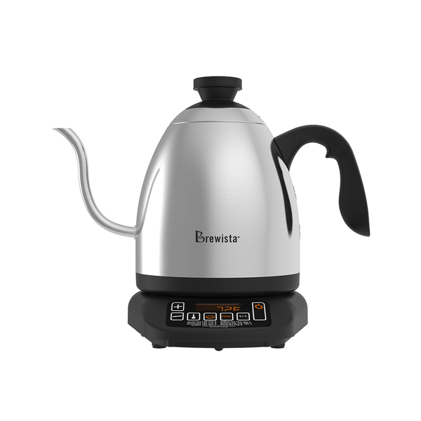 Brewista 1.2L SmartPour Variable Temperature Digital Cupping Kettle - The Concentrated Cup